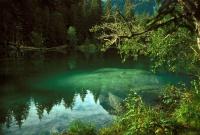 Der Caumasee bei Flims (GR)  (copyright SGS)